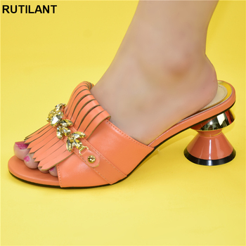 Newest Italian Shoes Without Matching Bags PU Leather Comfortable Pumps Wholesales Good Price for Shoes Without Bag African Shoe 1