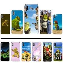 Cartoon Moive Shrek Coon Soft Silicone Black Phone Case For iphone 4 4s 5 5s 5c se 6 6s 7 8 plus x xs xr 11 pro max