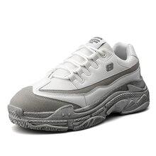 Harajuku Autumn Vintage Sneakers Men Breathable Mesh Casual Shoes For Comfortable Fashion Tenis Masculino Adulto