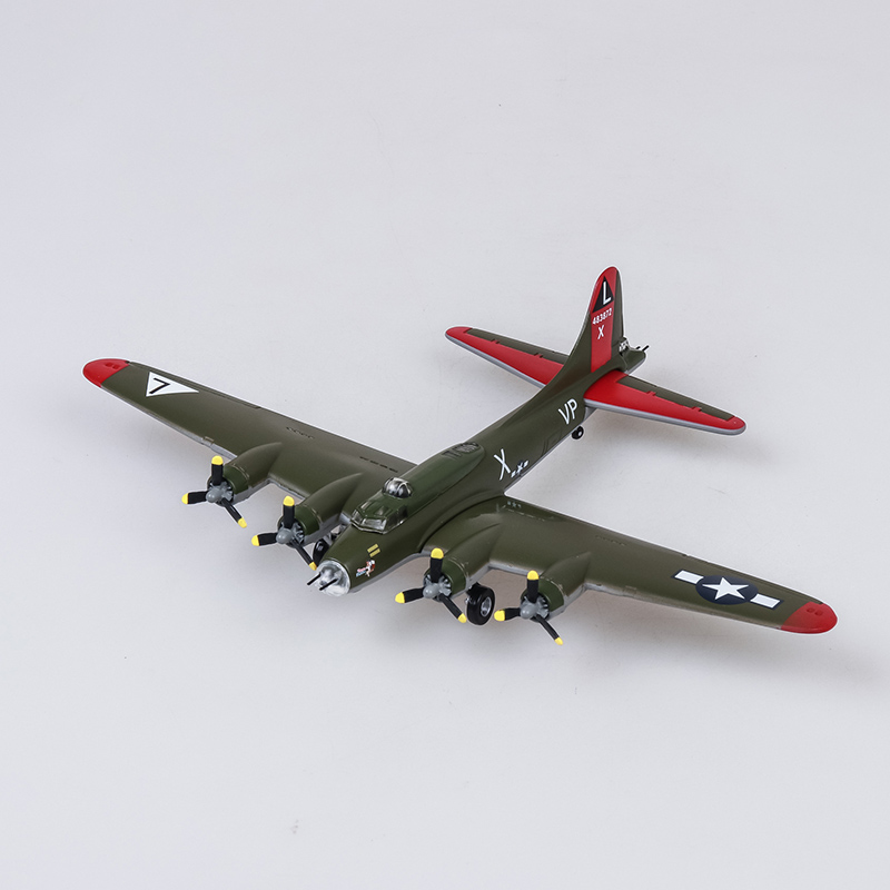 1/144 Scale World War 2 Classic Bomber Boeing B17 Aircraft Airplane B 17 Models Children Toys Gifts F Display Show Collections