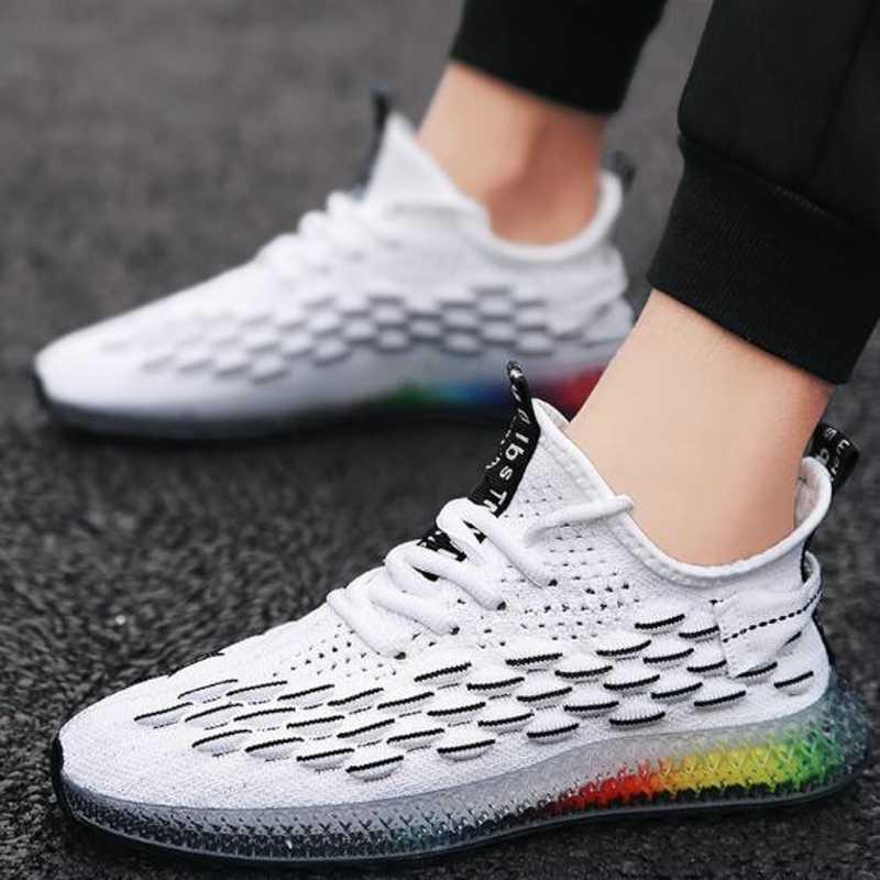 جديد احذية الجري الرجال الجلود العلوي عداء رياضية وسادة هوائية احذية الجري للرجال أحذية مشي في الهواء الطلق الرجال
