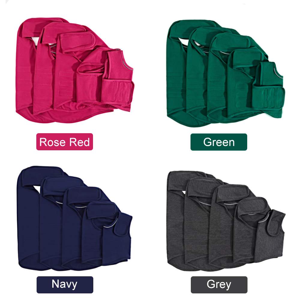 4 colors dog clothes