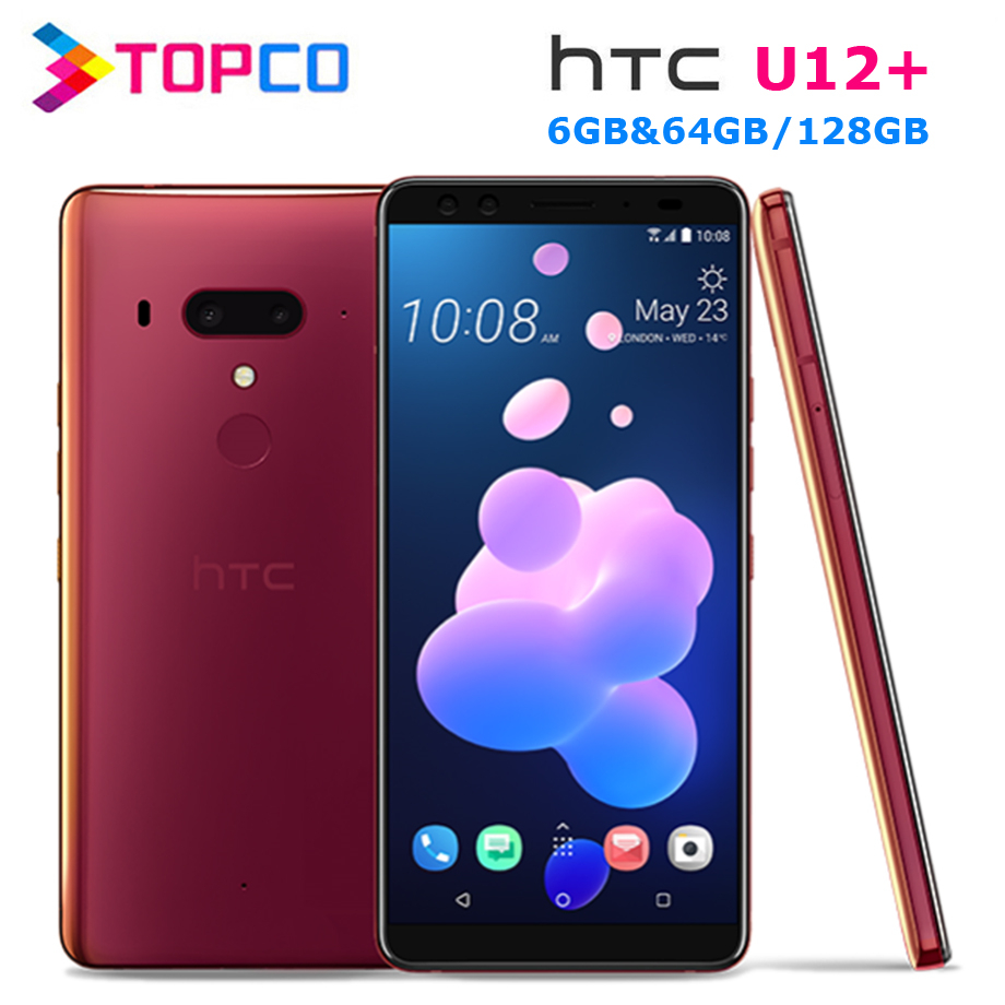 HTC U12 Original 64GB 6GB NFC Quick Charge 3.0 Octa Core Fingerprint Recognition 12mp/16mp title=