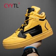 Cyytl новая модная кожаная мужская обувь на каждый день; Обувь