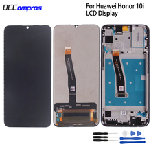 Original For Huawei Honor 10i HRY-LX1T LCD Display Touch screen Digitizer Repair Parts For Honor 10 i Screen LCD Display + Frame