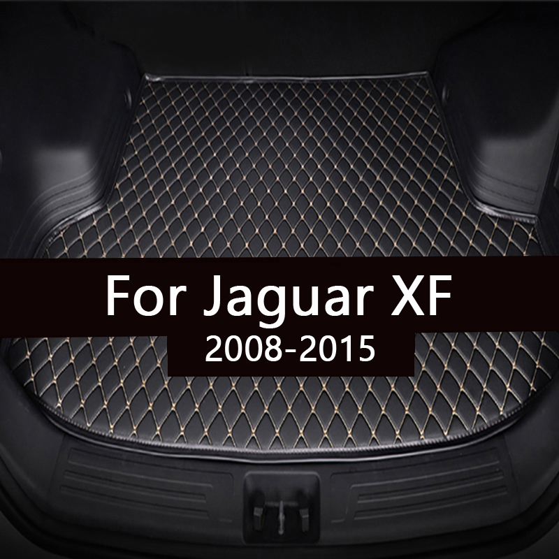 Коврик для багажника автомобиля для Jaguar XF седан 2008 2009 2010 2011 2012 2013 2014 2015 грузового лайнера ковры салонные аксессуары напольные покрытия