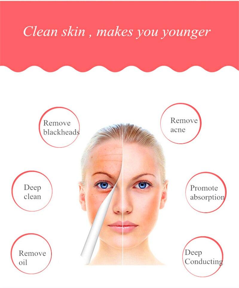 máquina de limpeza remover cravo acne reduzir