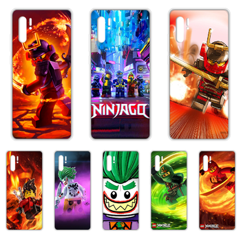 Le-GO Ninjago Masters of Phone Case cover For HUAWEI p 8 9 10 20 30 40 P pro Smart 2017 2019 Z lite transparent bumper 3D prime image