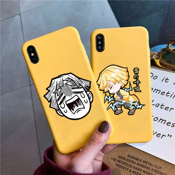 Demon Slayer Kimetsu No Yaiba for IPhone 11 Pro Max Case 6S 6 7 Plus 8 8Plus X Xs Max Xr Soft Silicone Cover For Iphone