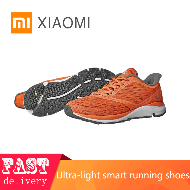 2019 NEW XIAOMI Original men's sneakers  tennis outdoor shoes breathable sports shoes light goodyear rubber smart running shoes