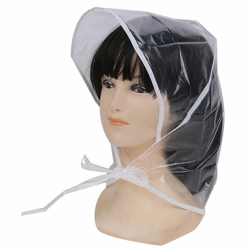 Creative Plastic Rain Hat Cap Coat Raincoat Women Men Kids Gifts Universal Use Hiking Fishing Rains Waterproof Windproof Hats