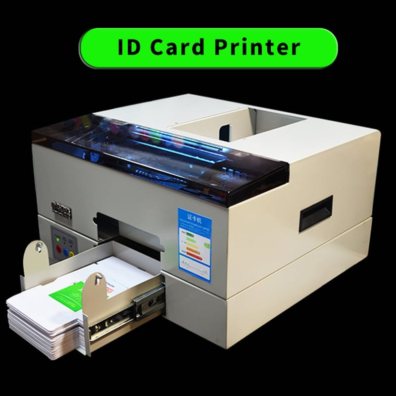 Auto Inkjet Pvc Card Printer for Business and Club Waterproof CD DVD Printer ID Card