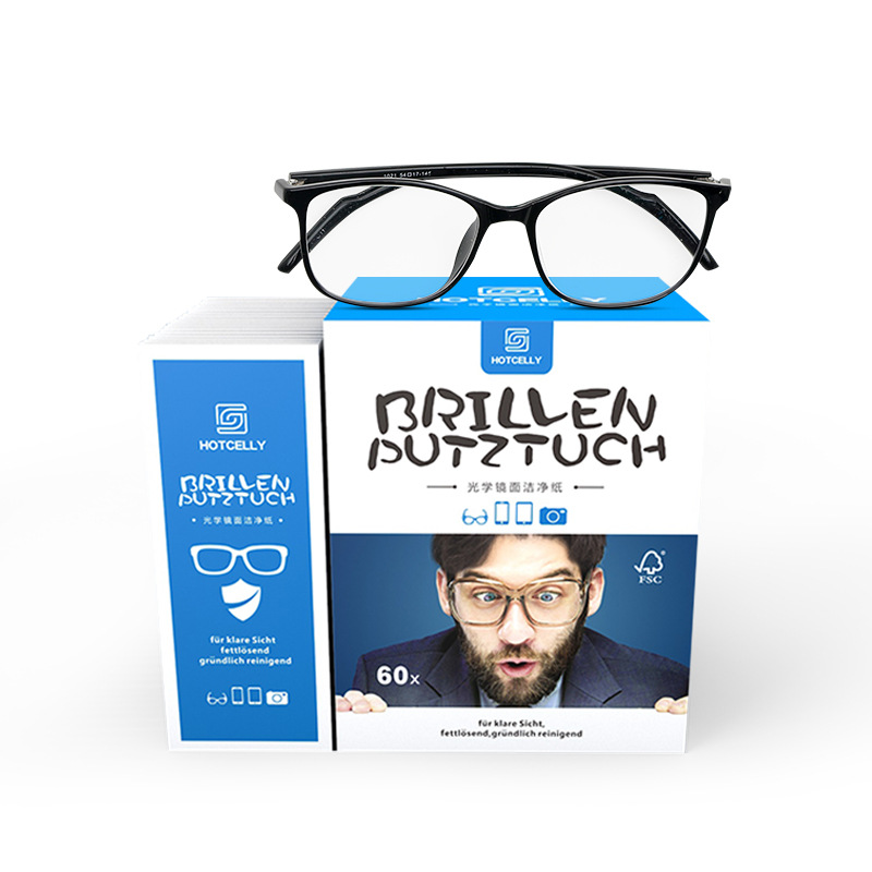 [Germany Formula] Can Sterilization Of Optical Mirror Clean Paper, Wipe Glasses Mobile Phone 60 Piece