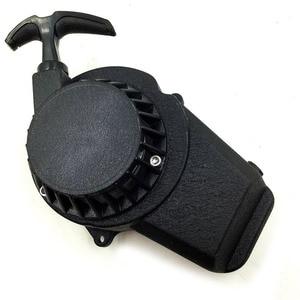 Image 5 - Aluminum Alloy Pull starter Easy to Pull Fit 47cc 49cc 2 Stoke Mini Dirt Pocket Pit Bike Moto ATV Quad Free Shipping