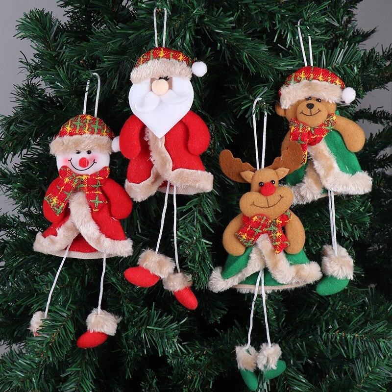 Новинка, рождественские украшения, рождественская елка, кукла-подвеска, старина, снеговика, украшения, новый год 2020, Natale Decoracion Navidad