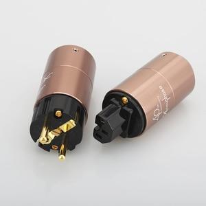 Image 5 - Accuphase ab Schuko priz, amplifikatör DVD OYNATICI ses AC güç kablosu güç kablosu konnektörü fiş kaynağı konektörü jack