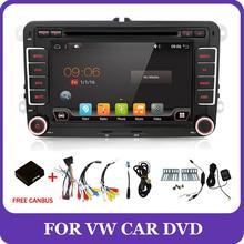 Bosion reproductor Dvd para el coche, 2G + 32G, Android, Aux, Gps, estéreo, para Volkswagen, Skoda, POLO, GOLF 5, 6, PASSAT, CC, TIGUAN, TOURAN, Fabia, Caddy