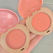 Palette de fard à joues Monochrome, rose imperméable, poudre pour le visage, Rouge, maquillage naturel, longue durée, bronzant, TSLM1