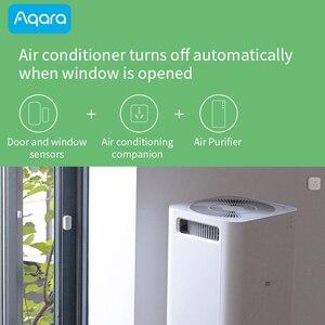 Image 4 - Aqara Door and Window Sensor Smart Zigbee Wireless work with Xiaomi Mi Home App compatible Apple HomeKit Siri Door open alarm
