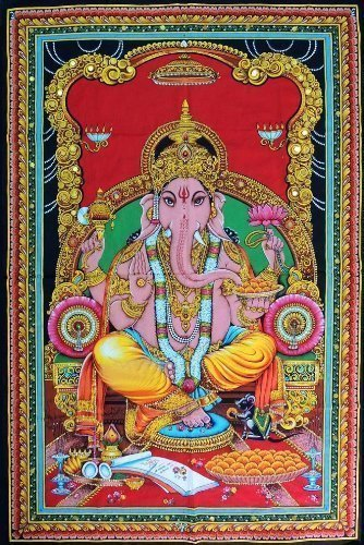 Lord Ganesh Tapestry For Bedroom Living Room Dorm