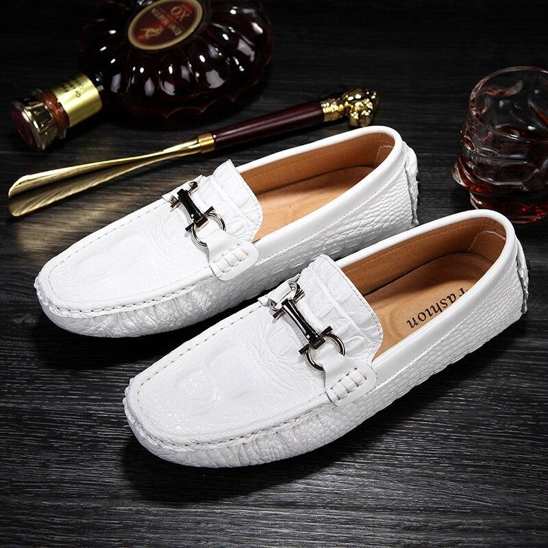 Men Casual Shoes Black Slip