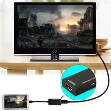 Micro USB Zu Kabel 1080 P Hd Tv Adapter Digital Video Audio Konverter Stecker Für Laptop Telefon Mit MHL Port kabel Adapter