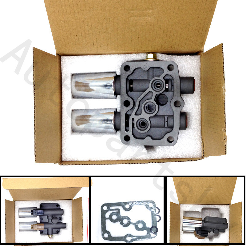 New Transmission Dual Linear Shift Solenoid & Gasket For Honda Acura 2.3L 28250-P6H-024 28250P6H024 28250 P6H 024 Accessories(China)