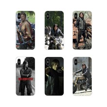 The Walking Dead Daryl Dixon Brilhando Para Samsung Galaxy J1 J2 J3 J4 J5 J6 J7 J8 Plus 2018 Prime 2015 2016 2017 Projeto Caso Claro(China)