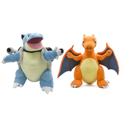30cm Blastoise Charizard Plüsch Pokemoned Stofftier Charmander Squirtle Evolution Puppe Geschenk Für Kinder Kinder