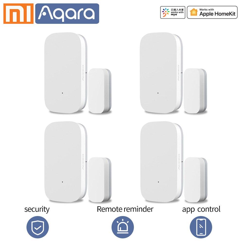 Aqara датчик окна двери Zigbee беспроводное соединение умный mi ni дверной датчик многоцелевой работы с Xiao mi умный дом mi home app