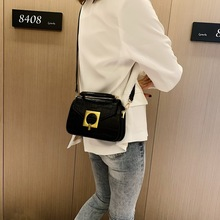 Fashion Style Shoulder Bag Simple Pu Leather Small Square Bag Casual Solid Color Design Messenger Bag New Ladies Leather Bag punk style solid color and rivets design women s shoulder bag