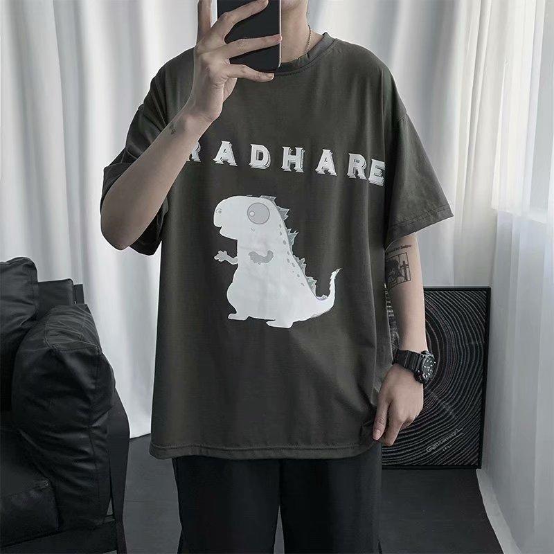 Купить bxyichen оригинальный узор хлопковая футболка с коротким рукавом