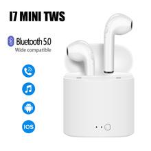 I7s Mini Tws Bluetooth Oortelefoon Draadloze Hoofdtelefoon Stereo Oortelefoon Sport Oordopjes In Ear Headsets Voor Alle Smart Phone cheap lukbspy In-Ear NONE Balanced Armature Cn (Oorsprong) Echte Draadloze 120dB Handleiding Opladen Case Oplaadkabel Tot 32 Ω