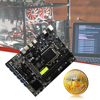 B250C BTC Mining Machine Motherboard Support Computer Mining Motherboard PCIe DDR4 Supports HDMI-compatible NO CPU