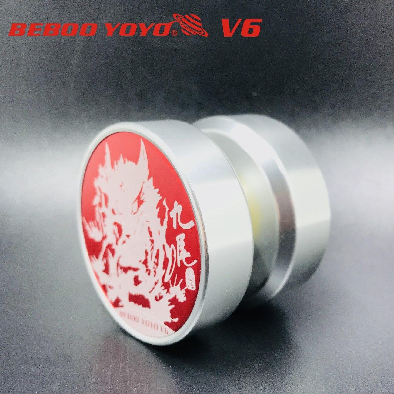 Детская игрушка YO-YO beboo йо-йо V6 красный девять хвост YO-YO игрушка мяч экспорт