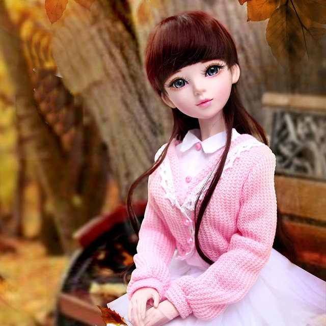Fashion Young Girl Doll Handmade Jointed