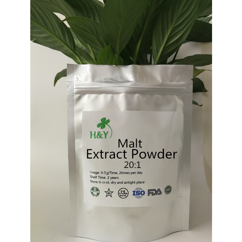 150-1000g Free Shipping  Increase Satiety Fructus Hordei Germinatus Extract/ Malt Extract Malt Powder 20:1In Stock
