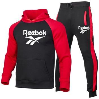 toy 4 boys hoodie track and field sportswear boutique clothing casual hoodie boys hoodie autumn and winter hoodies tops Sportswear Men's Suit Sport Two-piece Patchwork Hoodie Trousers Basketba Brand Track and Field Fitness Casual 2020 Autumn Winter