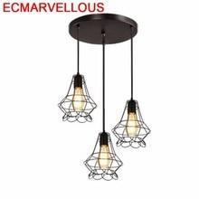 Industrial Decor Lustre E Pendente Para Sala De Jantar Hanging Lamp Luminaria Luminaire Suspendu Lampen Modern Pendant Light