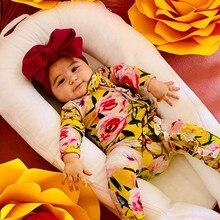 Ползунки для новорожденных мальчиков и девочек; повязка на голову; комплекты одежды