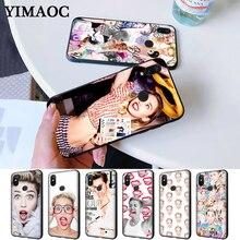 Miley Cyrus Soft Rubber Silicone Case for Redmi Note 4X 5 Pro 6 5A Prime 7 8