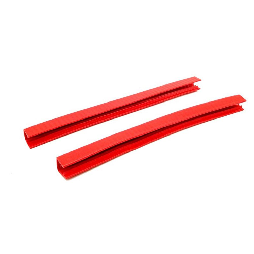 2pcs/pack Protect Tools Elastic Anti Collision Strip Crash Longboard Fashion U Shape Rubber Skateboard Bumper Sports Deck Guard