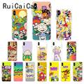Ruicaica мультфильм Rugrats amine милый мягкий силиконовый чехол для телефона iPhone 8 7 6S Plus X XS MAX 5 5S SE XR 10 Fundas Cover
