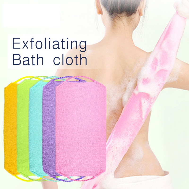 Bath Cloth Exfoliating Remove Dead Skin Soften Skin Cleansing Skin Magic Shower Scrubs Cloth Easy To Use