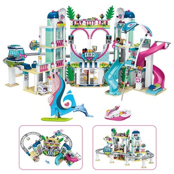 цена на Friends The Heartlake City Resort Model Compatible lepining Friends 41347 Building Block Brick Toys for Children