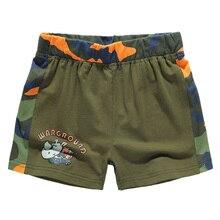 Childrens shorts cartoon pattern childrens bottoms