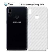 Sticker Protector-Film Back-Screen Carbon-Fiber A50S M30S A10S Samsung Galaxy Note-10