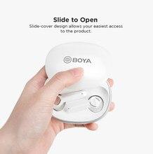 Nuovo BOYA BY-AP100 auricolare Bluetooth binaurale invisibile singolo orecchio in-ear Android Apple universale