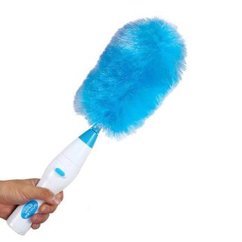 Regulowany bezprzewodowy Spinning elektryczny odkurzacz z piór sufitu niewidomych czyszczenia Spin szczotka Mop regał urządzenia do oczyszczania tanie i dobre opinie JosheLive Elipsa Electric Feather Duster Other 23x6cm Dropshopping wholesale
