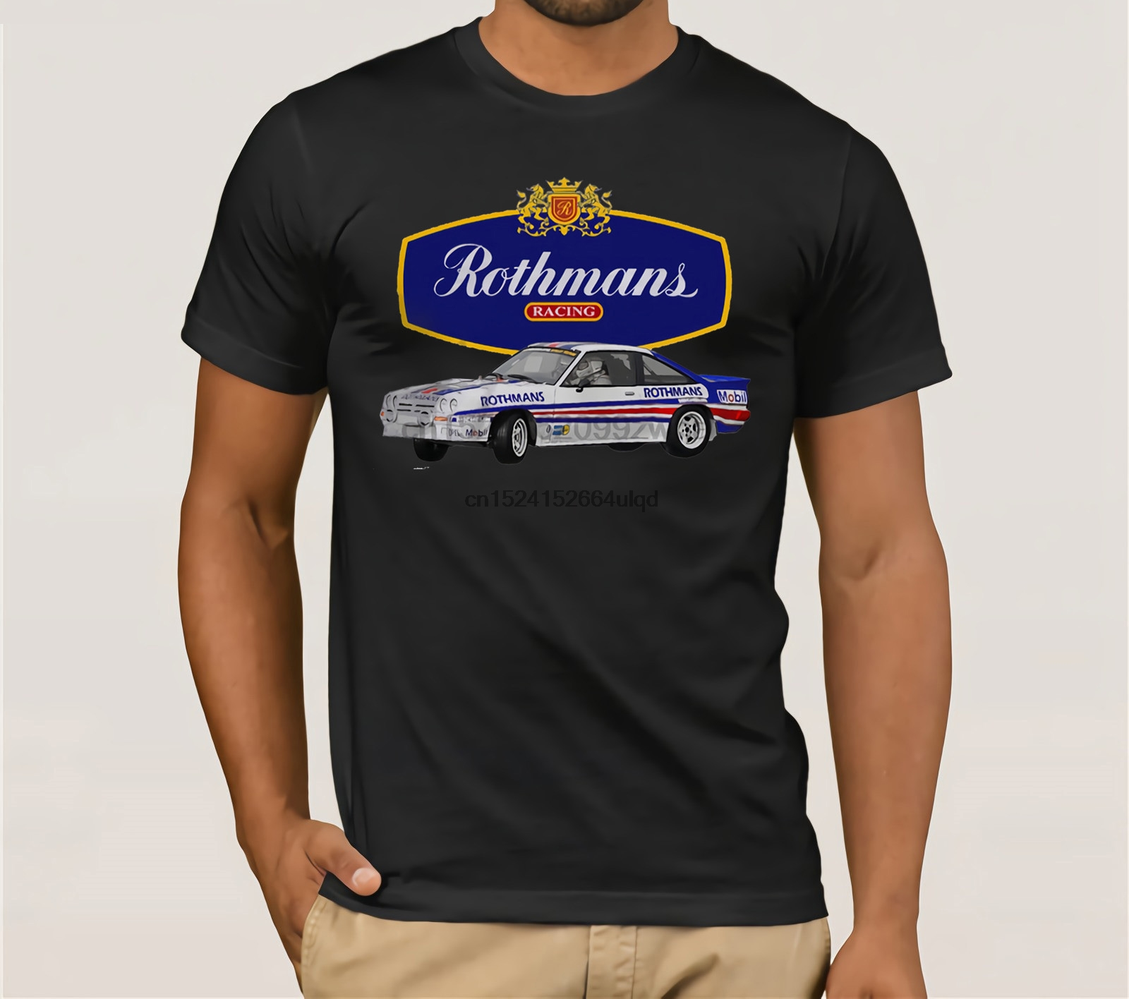 Evolution of Man Ari Vatanen Rothmans Escort RS1800 classic rally car t-shirt
